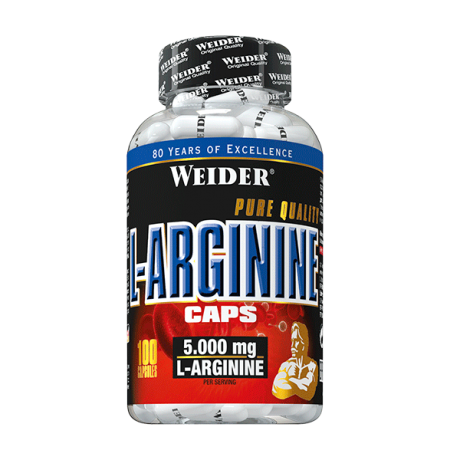 Aminoácidos L-Arginine 100 CAPS - Weider