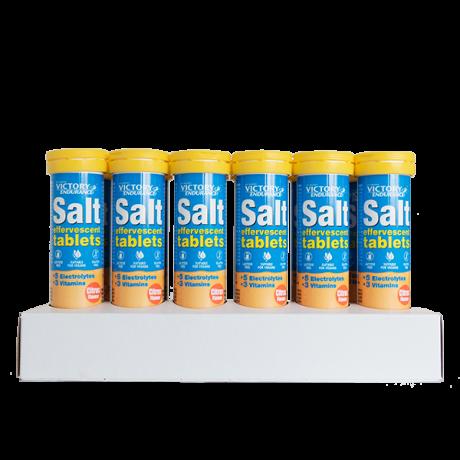 Tabletas Salt Effervescent Citrus 12 x 15 Tabl - Victory Endurance