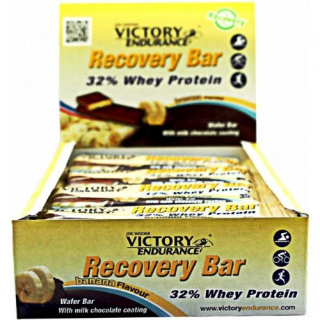Barrita Recovery Bar 32% Whey Protein 12 x 35gr. - Victory Endurance