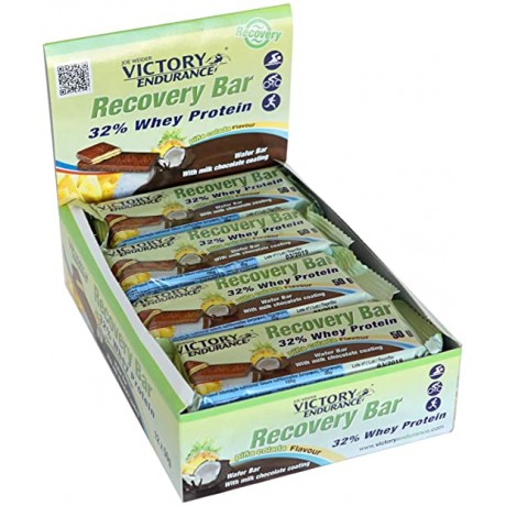 Barrita Recovery Bar 32% Whey Protein 12 x 50gr. - Victory Endurance