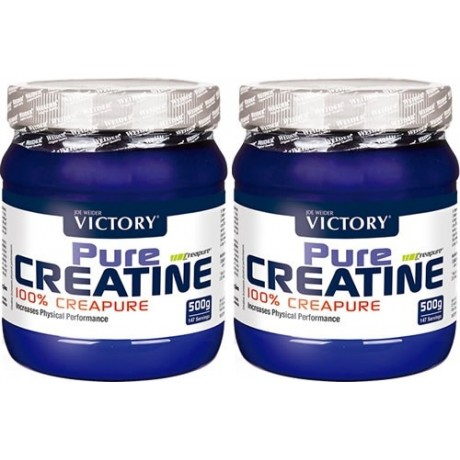Creatina Pure Creatine pack duo 2 x 500 gr. Victory