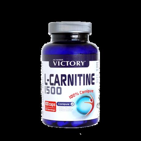 L-Carnitine 1500 120 Caps- Victory