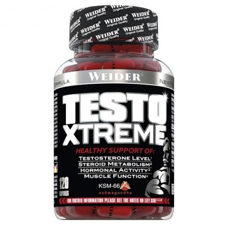 Pro hormonal Testo xtreme 120 caps. - Weider