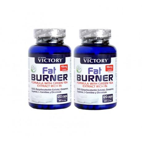 Pack quemador Fat Burner (2 x 120 caps.) - Victory