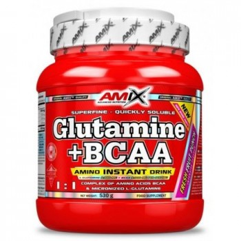 Aminoácidos Glutamina+Bcaa...