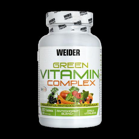 Vitaminas Green Vitamin Complex 90 tab. - Weider