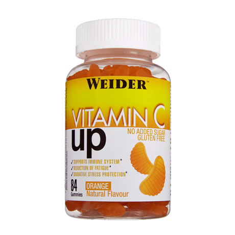 Gominolas Vitamin C Up 84 gum. - Weider