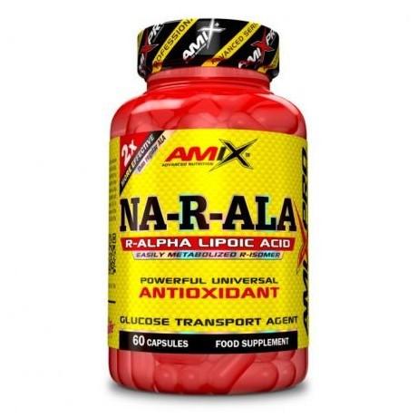Antioxidante NA-R-ALA 60 caps. - Amix