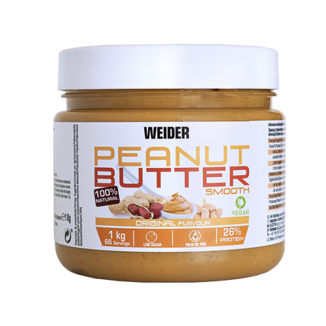 Crema de cacahuete Peanut Butter Smooth - Weider