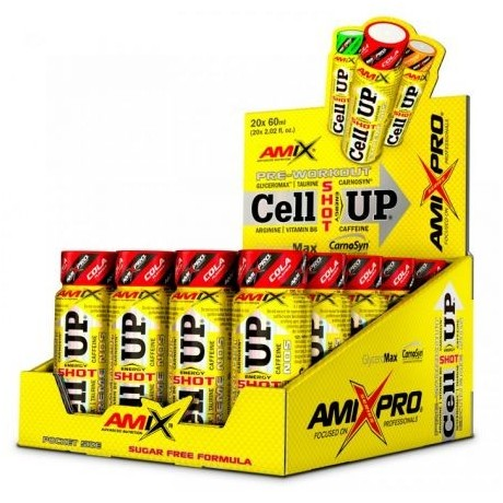 Pre-entreno CellUP Shot 20x60 ml - Amix