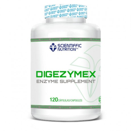 Encimas digestivas Digezymex 120 caps. - Scientiffic Nutrition