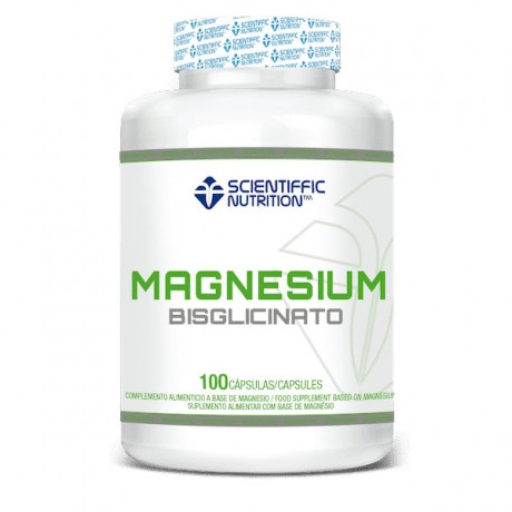 Magnesio Bisglicinato 100 caps. - Scientiffic Nutrition