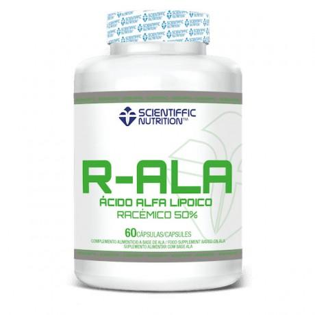 R-ALA Acido Alfa Lipoico Racemico 60 Caps. - Scientiffic Nutrition