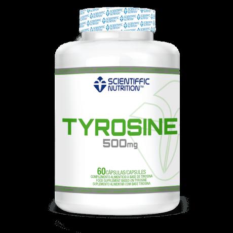 L-Tirosina 500 mg. 60 cap. - Scientiffic Nutrition
