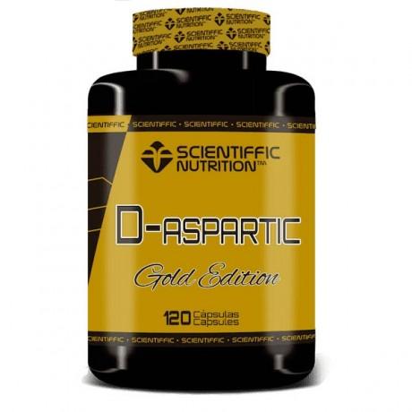 Ácido D-Aspártico 120 comp. - Scientiffic Nutrition