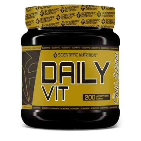 Vitaminas y minerales Daily Vit 200 comp. - Scientiffic Nutrition