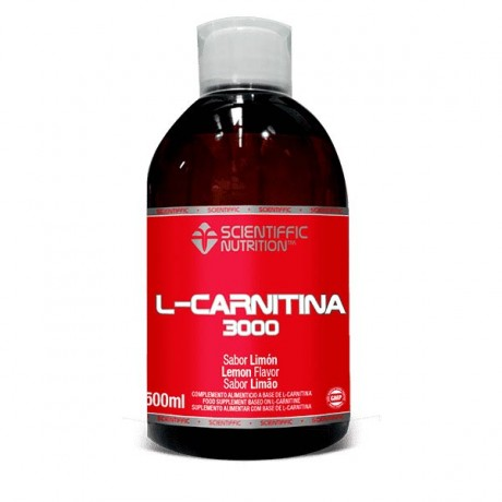L-carnitina líquida 500 ml. - Scientiffic Nutrition