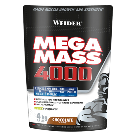 Voluminizador Mega Mass 4000 4 kg - Weider
