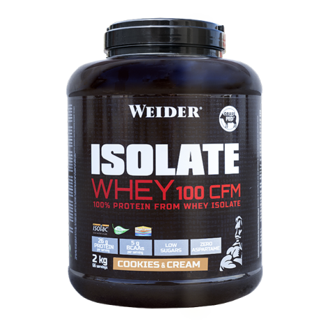 Proteína Isolate Whey 100 CFM - Weider