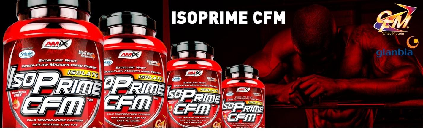 ISOPrime CFM es una de las proteínas de mayor calidad del mercado